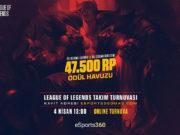 eSports360 Weekend League of Legends Turnuvası Başlıyor