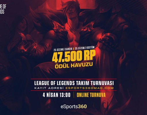 eSports360 Weekend League of Legends Turnuvası Başlıyor