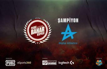 PUBG Invitational Bahar Kupası Şampiyonu Digital Athletics