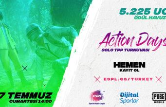 ESPL Turkey Action Days PUBG MOBILE Solo Turnuvası Başlıyor