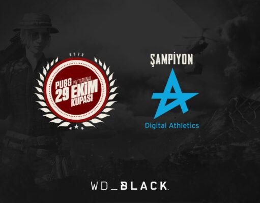PUBG 29 Ekim Kupası Şampiyonu Digital Athletics!