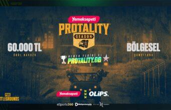 Yemeksepeti Protality Sezon 3 bu sonbaharda başlıyor!